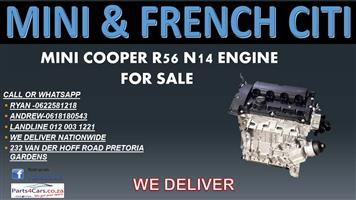 MINI COOPER R56 N14 ENGINE FOR SALE