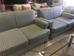 Pair of 2 x 2 Seater Sofas
