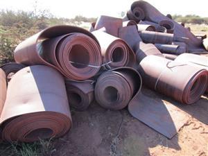 Approximately 500 Ton Used Conveyor Belting - ON AUCTION