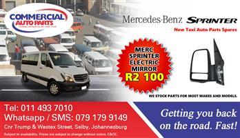 Electric Door Mirror For Mercedes Benz Sprinter For Sale.