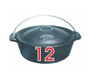 Cast Iron Bake Pot Number 12
