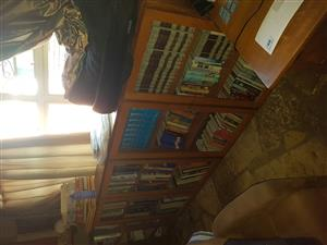 Meranti bookcase
