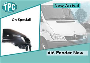 Mercedes Benz Sprinter 416 New Fender For Sale at TPC