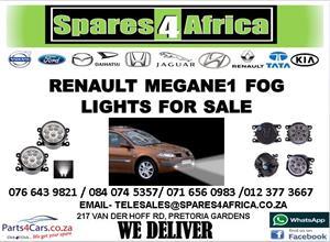 RENAULT MEGANE USED FOG LIGHTS FOR SALE