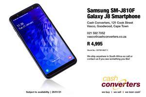 Samsung SM-J810F Galaxy J8 Smartphone
