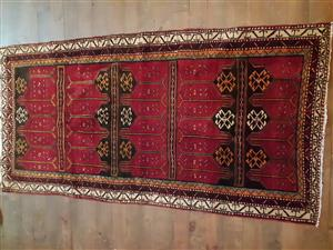 New Persian rug for sale.