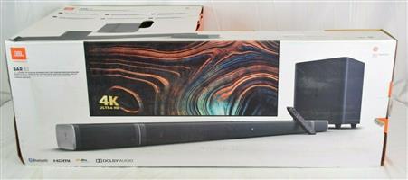 JBL 5.1-Channel 4K Soundbar w True Wireless Surround Speakers & Wireless Sub