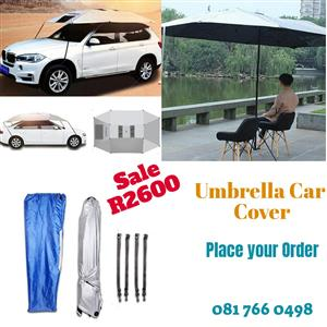 Umbrella car cover