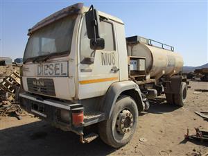 MAN M2000, LE2208, Diesel Tanker Truck - ON AUCTION