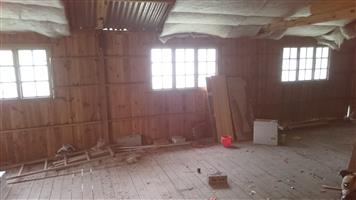 Wooden home for sale