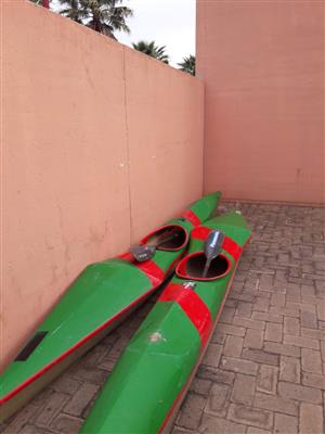 2 x Race canos for sale