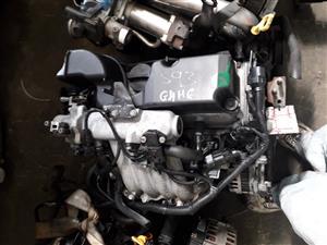 HYUNDAI G4HG COMPLETE IMPORT LOW MILEAGE ENGINE