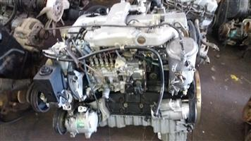 Ssang Yong Musso 2.9 TDi Engine  # 662 (*Rear Bowl Engine- R 18 500.... *Front Sump Engine- R 20 000)