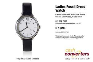 Ladies Fossil Dress Watch