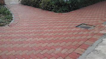 BRICK PAVING - WALK WAYS ; DOMESTIC , COMMERCIAL AND INDUSTRIAL.
