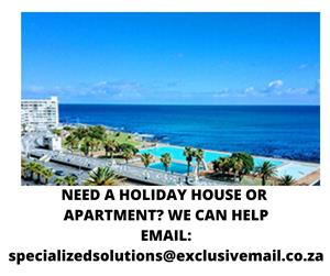 ARE YOU LOOKING FOR A HOLIDAY HOUSE OR APARTMENT FOR YOUR PERFECT HOLIDAY?