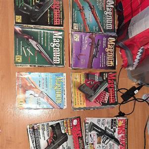 Collectors Magnum Magazines, Combat Handguns Magazines,  Various