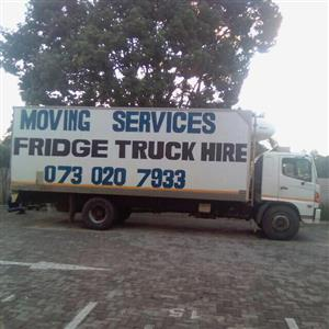 Fridge Truck Hire 0730207933
