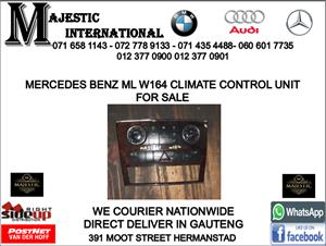 Mercedes benz W164 ml climate control unit for sale
