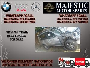 Nissan X trail used spares for sale