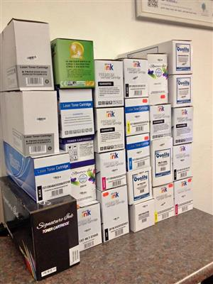 Ink Cartridges and Toners, Brand New and Boxed