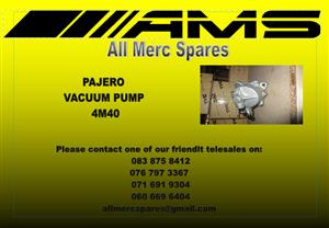 MITSUBISHI PAJERO VACUUM PUMP FOR SALE