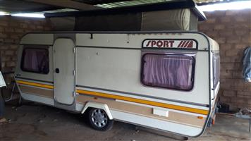 Caravan to exchange for a car