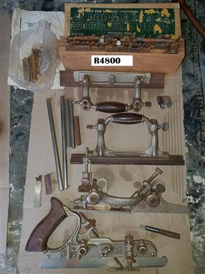 Stanley No 55 Combination Plane in Wooden Box