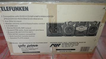 Telefunken hi fi system