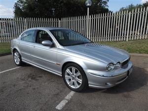 2003 Jaguar X-Type 2.0 V6 SE automatic