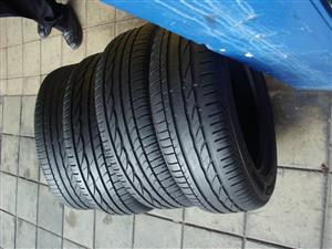 205/55/16 SECONDHAND TYRES