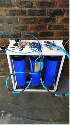 Aqua chrome system