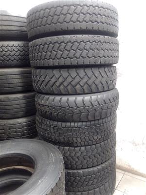 Good second hand truck tyres