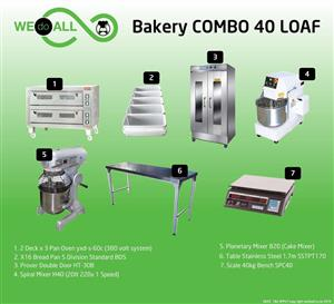 Bakery Combo 40 Loaf BC40L