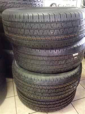 265/60/18 Continental cross contact R6200 x4 new tyres