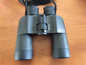 Pentax 10x50 PCF Binoculars with original soft carry case