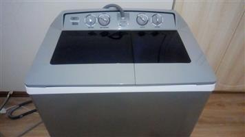 DEFY - 13kg Twin-Tub Washing Machine Metallic