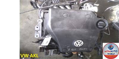 GOLF/POLO 1.6L 4CYL AKL USED IMPORTED SECOND HAND LOW MILEAGE ENGINE FOR SALE