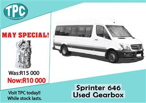 Mercedes Benz Sprinter 646 Used Gearbox For Sale at TPC.