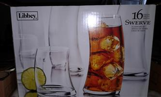 16 Piece Glass Set