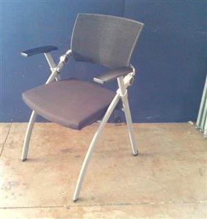 Mobile visitor chair