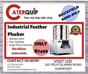 NEW CHICKEN FEATHER PLUCKERS