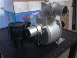 Water pump + Petrol engine