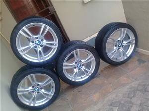 BMW tyres including Mags