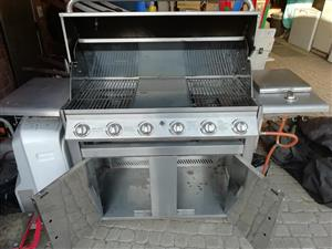 7 Burner S/Steel Braai with Rotisserie