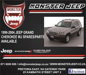 Jeep Grand Cherokee WJ Spares / Parts