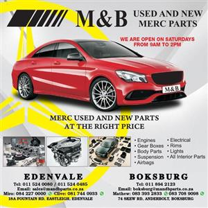 MERCEDES BENZ BRAND NEW FRONT AND REAR SHOCKS