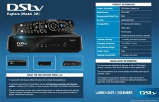 Dstv, OVHD and TV's