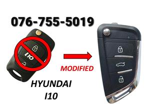 Hyundai i10 Spare Key