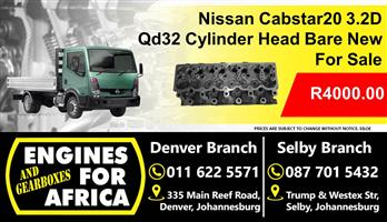 Nissan Cabstar 3.2D Qd32 Cylinder Head New Bare For Sale
